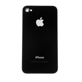 Harga Apple Backdoor / cover i Phone 4g - Hitam