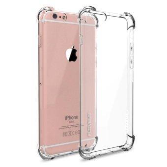 Harga Casing Handphone Anti Crack Elegant Softcase for Apple Iphone 5 / 5S / 5SE - Clear