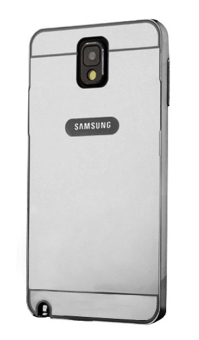 Harga Casing Metal Bumper Mirror for Samsung Galaxy Note 3 - Black