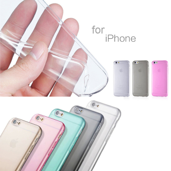 Harga Accessories Hp Ultrathin Aircaseor Iphone 6 Clear + Gratis Tempered Glass