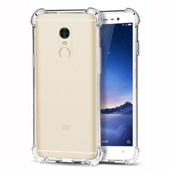 Harga Case AntiCrack / Anti Crack / Shock / Benturan Elegant Softcase for Xiaomi Xioami Xiomi Redmi Note 4 - Clear
