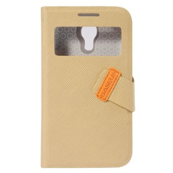 Harga Baseus Faith Leather Case - Samsung Galaxy S4 Mini - Khaki
