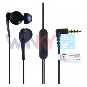 Harga Wanky Stereo Handsfree Earphone For Sony EX300AP - Hitam