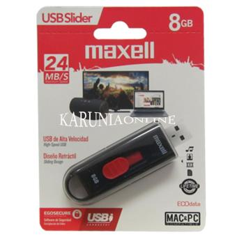 Harga Maxell USB Flashdisk Slider 8GB