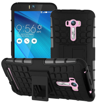 For Asus Zenfone Selfie Case ZD551KL Heavy Duty Armor Shockproof Hybrid Hard Soft Silicone Rugged Rubber