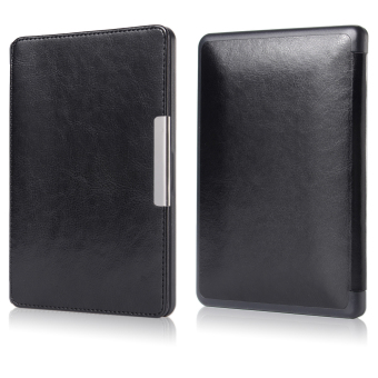 Harga XCSource Magnetic Leather Cover for Kobo Touch 6 (Black)