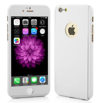 OEM 360 Full Protection Case IPhone 6 6S with Tempered Glass Putih