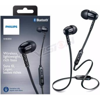 Harga Headset Bluetooth | Philips SHB5850B | In-Ear Sound