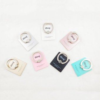 Harga Delcell iRing Mobile Phone Stand Delcell - Universal Holder - Pink