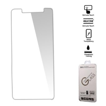 For Oukitel K6000 9H Tempered Glass Screen Protector Film Guard (Arc Edge) - intl