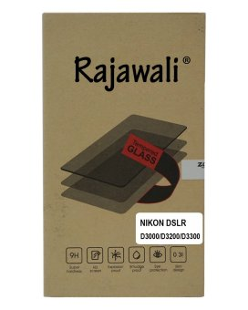 Harga Rajawali Tempered Glass / Screen Protector For Nikon D3100/3200/3300