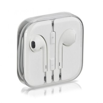 Harga Accessories Hp Earphone Handsgratis Iphone 5/5C/5S Headset Apple