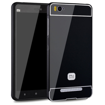 Harga Accessories Hp Hunter Elegant for Xiaomi MI4i Metal Bumper Backcase - Hitam