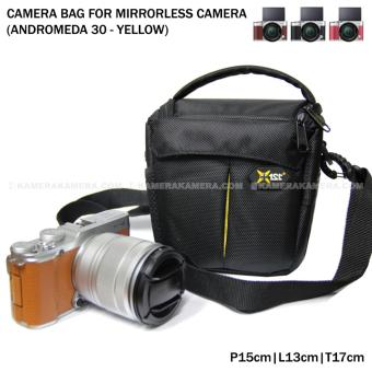 Harga Camera Bag for Mirrorless Camera - Andromeda 30 (Yellow) for FujiFilm X-A3, X-A2, X-T10, Canon EOS M10, EOS M3, Sony @6000, @5000, Etc