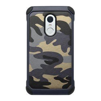 Harga Cool Army Camouflage 2 in1 Pattern PC+TPU Armor Anti-knock Protective Back Cover For Xiaomi Redmi Note 4 - intl