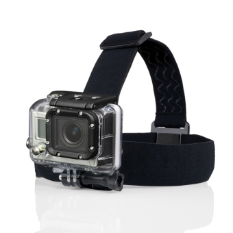 Harga Adjustable Camera Head Strap Mount for GoPro Hero3 Go Pro 2 3 & Hero HD Hero2 Headstrap Black - Intl