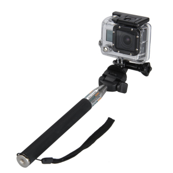 Harga Extendable Handheld Monopod With Adapter For Gopro (Black)