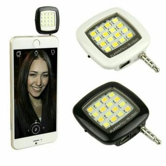 Harga Lampu Selfie Flash Light LED 16 Universal HP Smartphone Android Iphone WHITE