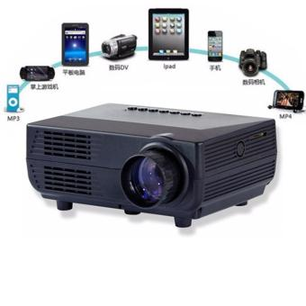 Harga Mini Portable Projector LED 60 Lumens with Analog TV Receiver and SD Card Support 480x320px