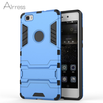 Harga Airress TPU/PC 2in1 Armor Rugged Military Grade Phone Case for Huawei P8 Lite(Blue)