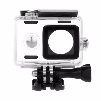 Harga KingMa Original Waterproof Case / Housing Underwater for Xiaomi Yi Action Camera - Hitam