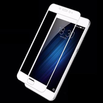 Harga Full Cover Screen Protectors 9H Super Hardness HD Toughened Tempered Glass for Meizu Meilan Note 3 - White - - intl
