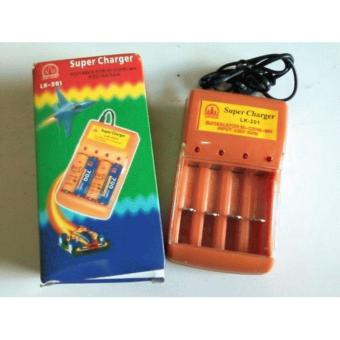 Harga Super charger battery portable AA /AAA