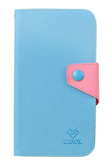 Harga Alcatel One Touch Flash Plus Case Rainbow Cover Casing - Blue