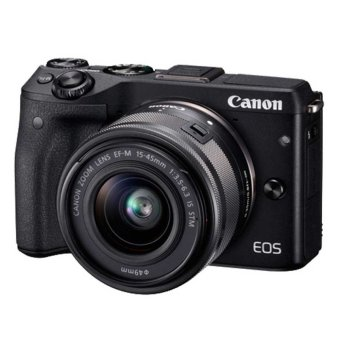 Harga Canon EOS M3 - 24.2MP - Kit 15-45mm - Hitam