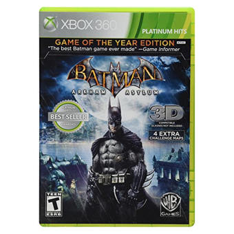 Harga Batman: Arkham Asylum [Game of the Year Edition] - intl