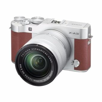 Harga Fujifilm X-A3 Kamera Mirrorless with 16-50mm Lens - Brown