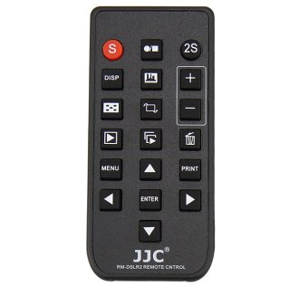 Harga JJC RM-DSLR2 Wireless Remote Control for Sony A6000 NEX-7 Replaces Sony RMT-DSLR2 (Black) - intl