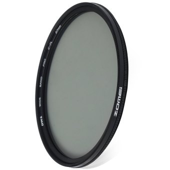 Harga Zomei 67mm Ultra Thin CPL Circular Polarizer Glass Filter Lens (Black)