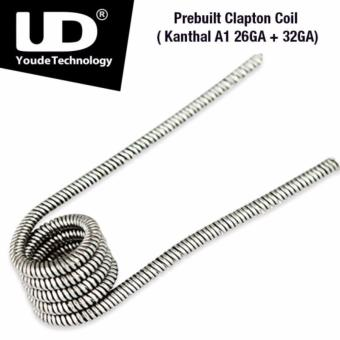 Harga PREBUILT COIL UD YOUDE KANTHAL CLAPTON 26 + 32 GAUGE AWG AUTHENTIC KAWAT VAPE WIRE JADI