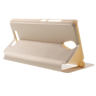 Harga PC Leather Cover for Xiaomi Redmi Note 2 (Beige)