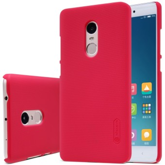 Harga Nillkin Frosted Xiaomi Redmi Note / Xiaomi Redmi Note 4 - Merah + Gratis Screen Guard