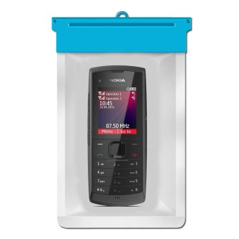 Harga Zoe Nokia X1-01 Waterproof Bag Case - Biru
