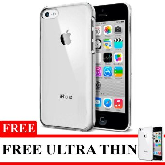 Harga Softcase Ultrathin Untuk Iphone 5 / 5S / SE - Hitam Clear + Free Softcase Ultrathin