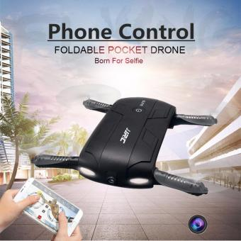 Harga SP Hot Foldable Pocket Selfie Drone With Camera Wifi FPV RC Quadcopter Phone Control Helicopter Mini Dron JJRC H37 Elfie Copter