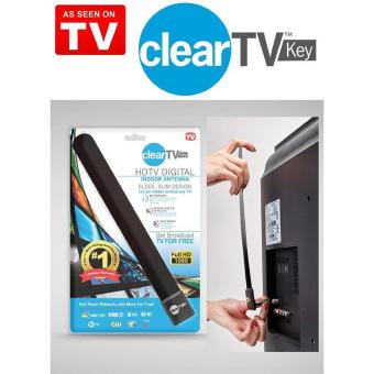 Harga High Quality Brand New TOP Clear TV Key HDTV FREE TV Digital Indoor Antenna Ditch Cable As Seen on TV
