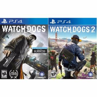 Sony PS4 Games Watch Dogs 1 + Watch Dogs 2