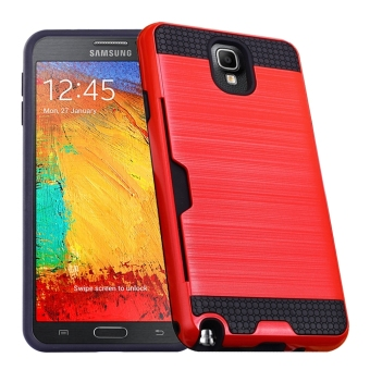 RUILEAN Case For Samsung Galaxy Note 3 N9000 Dual Layer TPU +PC Shockproof Card Slot