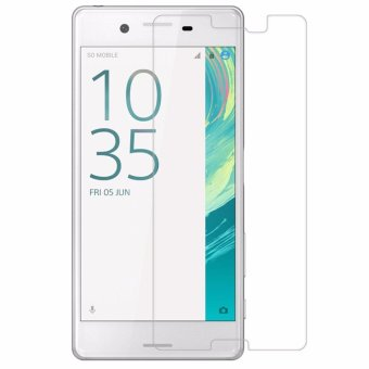 Harga Sony Experia Xperia X / Dual Tempered Glass Screen Protector 0.32mm - Anti Crash Film - Bening