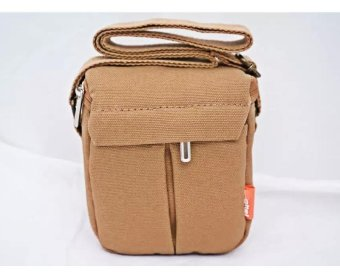 Harga New Shockproof Camera Shoulder Strap Canvas Bag Case Cover for Canon EOS M10 M2 M3 Camera - intl