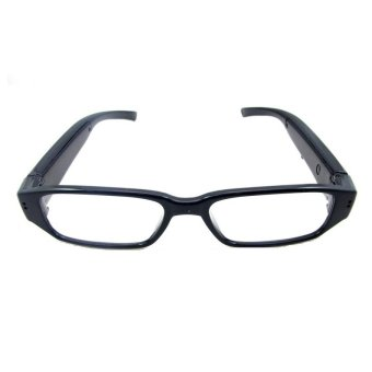 Harga Spy Eyewear Glasses Camera Video Recorder HD 720P - Hitam