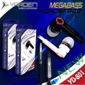 Harga Yarden Mega Bass Handsfree Sound Only Excellent Sound Quality With Mic