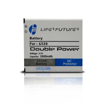 Harga Life & Future Battery / Baterai / Batre Samsung Galaxy Grand Prime G530 J3 J5 Double Power 2600mAh