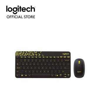Logitech MK240 Nano Wireless Keyboard and Mouse Combo (Black)