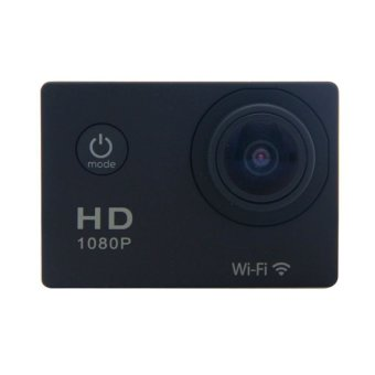 Harga Sports Cam Wifi 1080P - 12 MP - Hitam