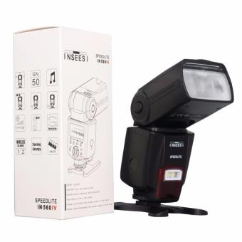 Harga INSEESI IN560IV Wireless Universal Flash Speedlite For Canon, Nikon,Pentax Universal Flash Speed Light,eg Nikon D5200 D5300 D5500 D7000 D7100 D7200 D750 D3000 D3100 D3200 D3300 ,as like yongnuo 560iv. - intl